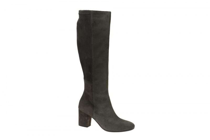 Paul Green 8032 elegante Stiefel für Damen in dunkel-grau