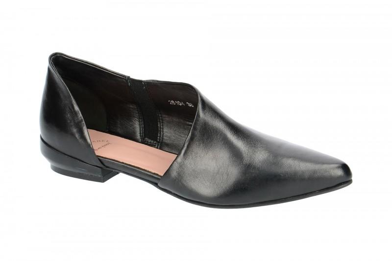 Everybody 28104 elegante Slipper für Damen in schwarz