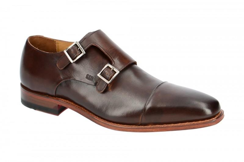 Gordon & Bros. LUCQUIN Rahmengenähte Schuhe für Herren in dunkel-braun