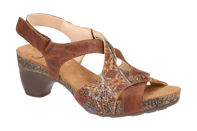 Think TRAUDI Riemchen Sandale für Damen in braun