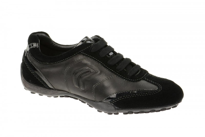 Geox Respira Snake X Sneakers in schwarz Damenschuhe