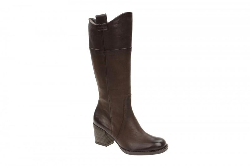 Paul Green 8591 elegante Stiefel für Damen in dunkel-braun