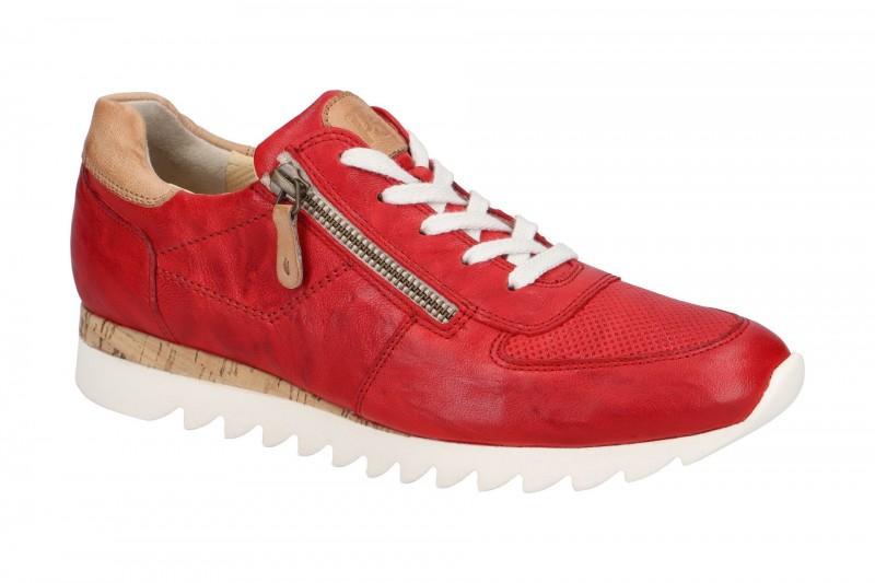 Paul Green 4485 sportliche Halbschuhe für Damen in rot