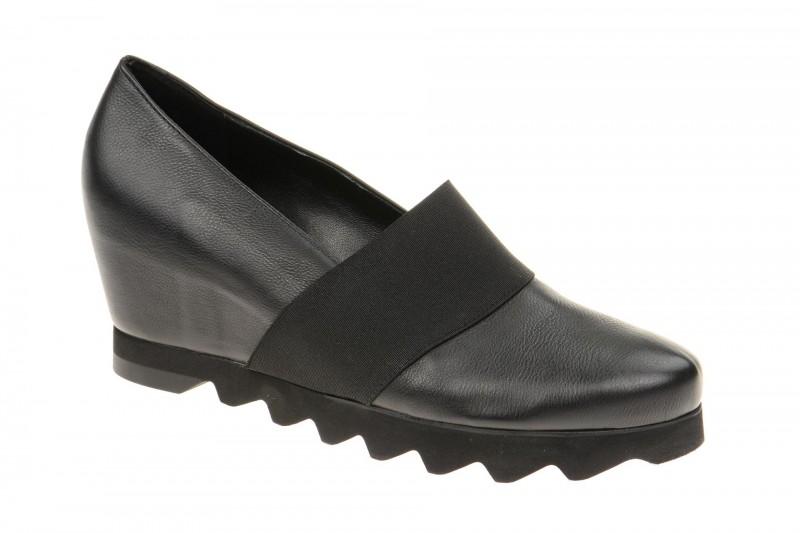 Högl 3210 bequeme Slipper für Damen in schwarz