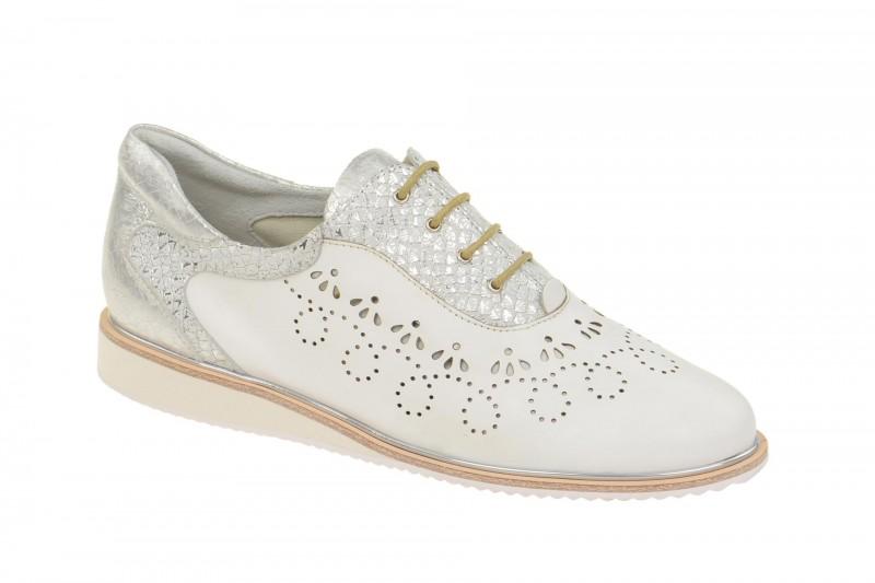 Everybody 30494S1422 elegante Halbschuhe für Damen in weiß