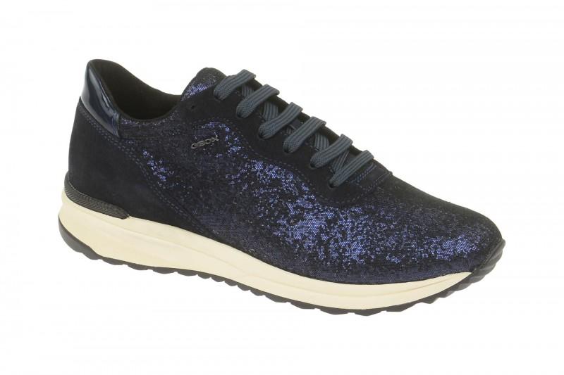 Geox Respira Airell B Sneakers in schwarz blau Damenschuhe