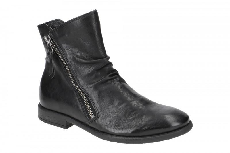 Think CIVITA elegante Stiefelette für Herren in schwarz