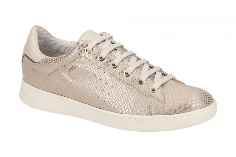 Geox Respira Jaysen A Damenschuhe in gold weiß Sneakers