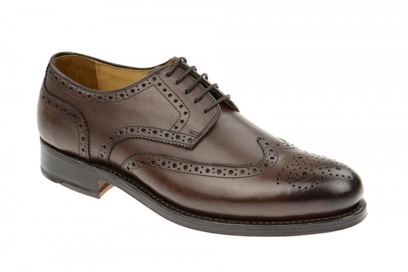 Gordon & Bros. LEVET Rahmengenähte Schuhe für Herren in dunkel-braun