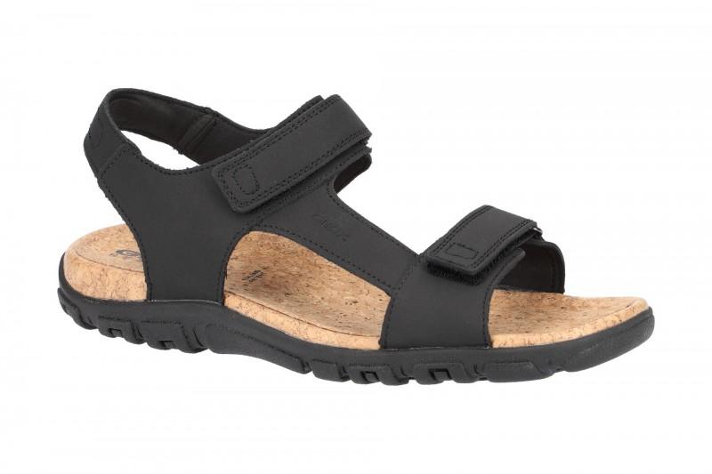 Geox S.STRADA Sandale für Herren in schwarz