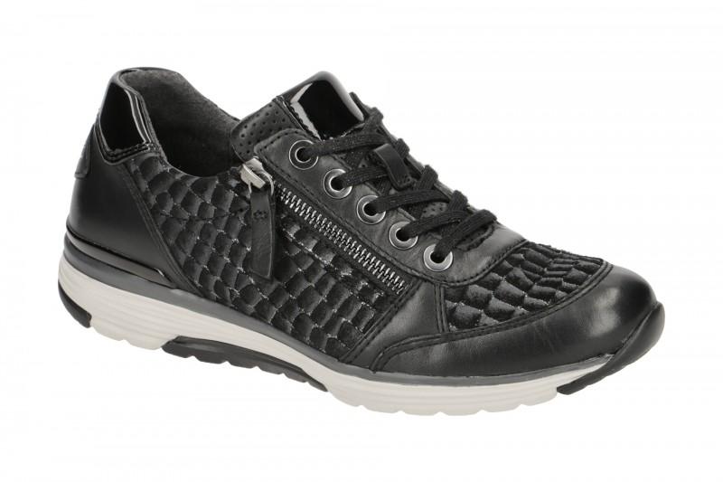 Geox Respira Snake A Sneaker in schwarz Herrenschuhe