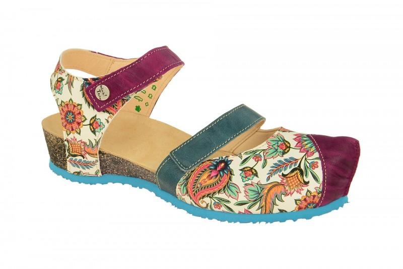 Think KESSY Riemchen Sandale für Damen in blau