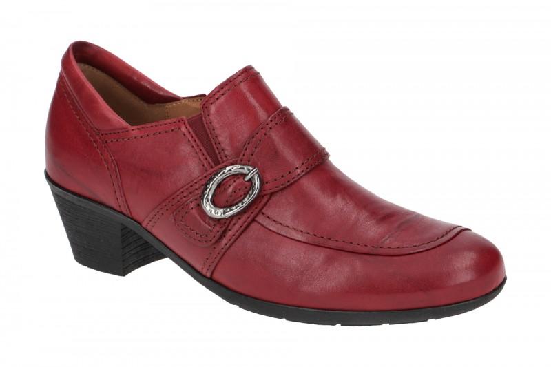 Gabor 34.495 elegante Slipper für Damen in rot