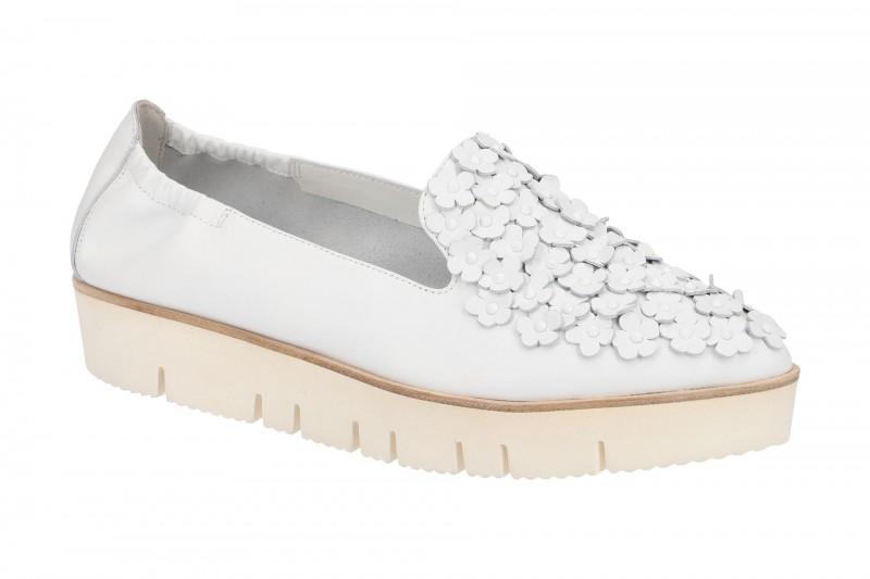 Kennel & Schmenger PIA XXL Ballerina - Halbschuhe - Slipper für Damen in weiß