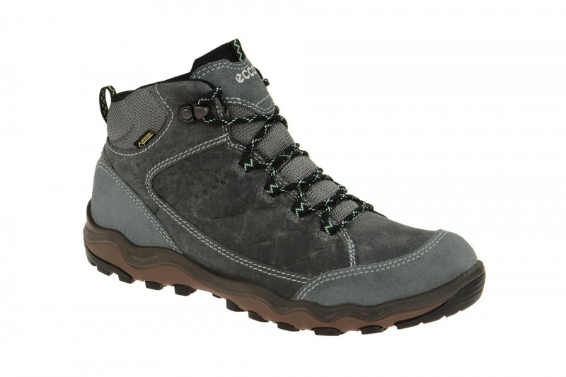 Ecco ULTERRA Trekking- und Wanderstiefelette für Damen in dunkel-grau