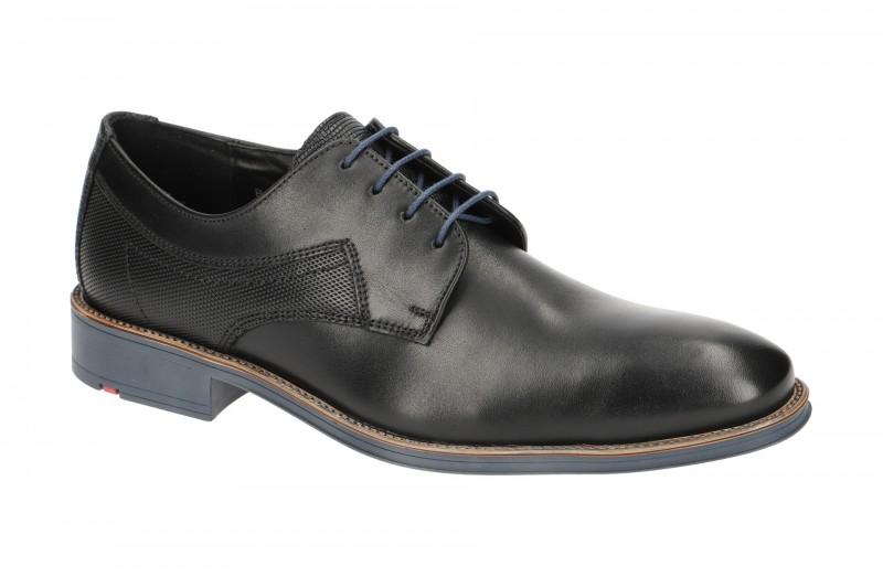 Lloyd GENF elegante Halbschuhe und Schnürschuhe für Herren in schwarz