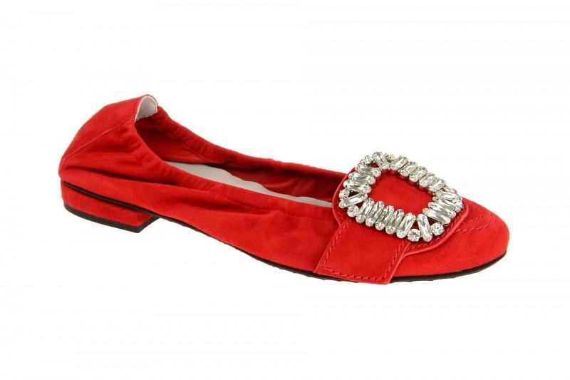 Kennel & Schmenger MALU Ballerina - Halbschuhe - Slipper für Damen in rot