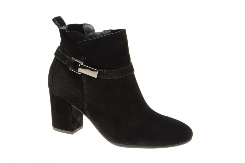 Paul Green 8045 elegante Stiefelette für Damen in schwarz
