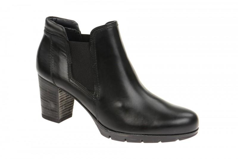 Paul Green 8738 elegante Stiefelette für Damen in schwarz