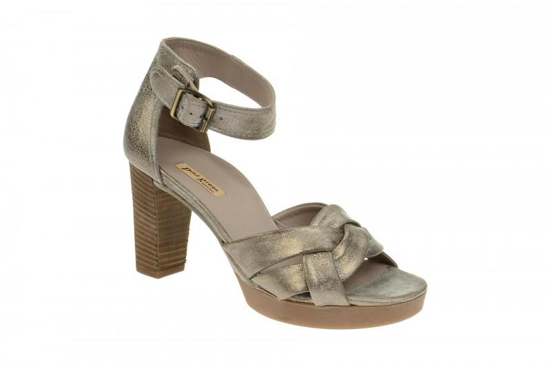Paul Green 6958 Riemchen Sandale für Damen in grau