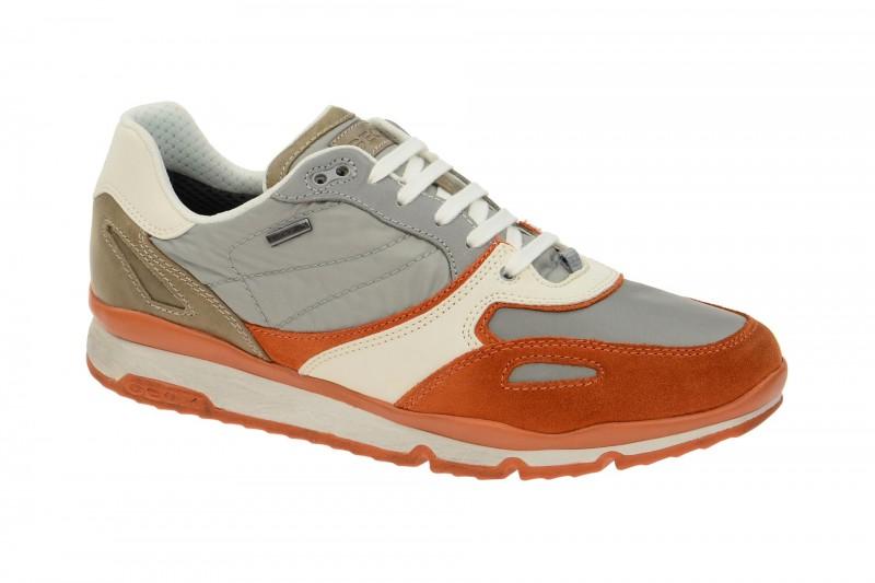 Geox Respira Sandro ABX Sneakers orange Amphibiox