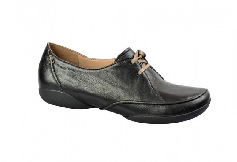Clarks FELICIA VALE elegante Halbschuhe für Damen in schwarz