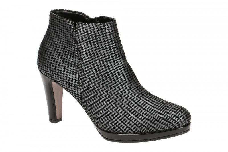 Gabor 35.860 elegante Stiefelette für Damen in schwarz