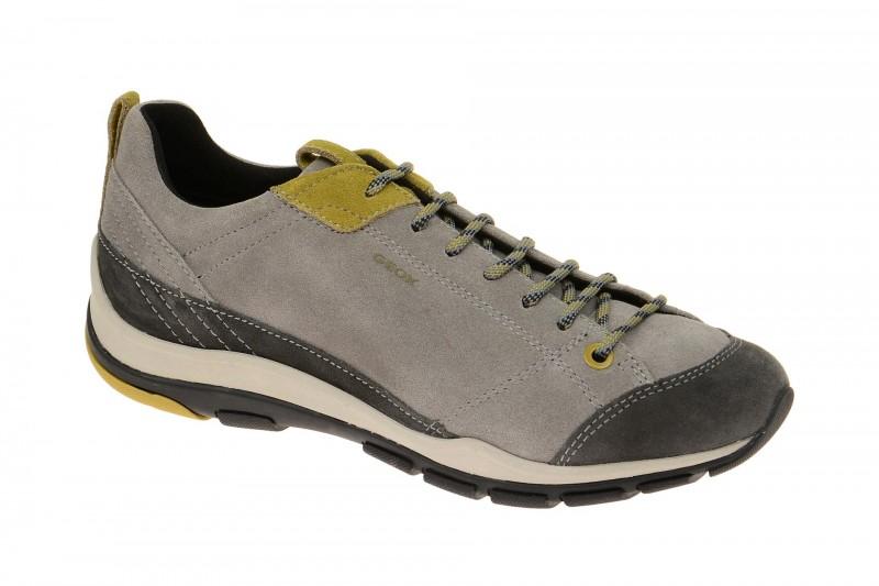 Geox Respira Kander Schuhe in grau Damen Halbschuhe
