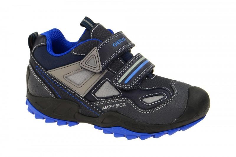 Geox Respira Jungen Schuhe Savage ABX in dunkelblau Amphibiox