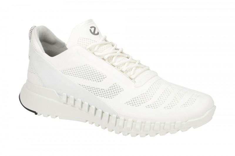 Ecco ZIPFLEX sportliche Halbschuhe für Herren in weiß
