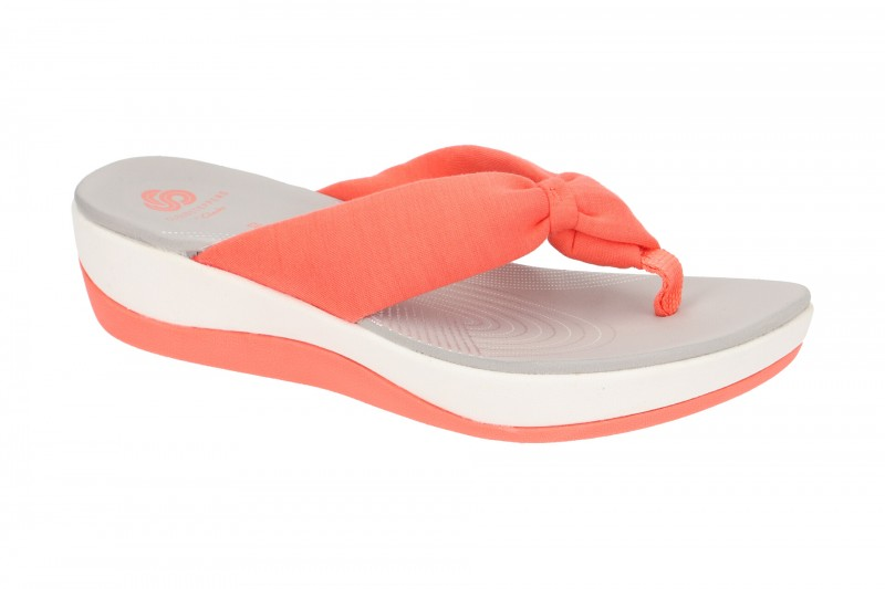 Clarks ARLA GLISON Pantoletten für Damen in orange