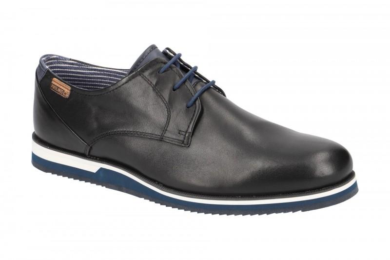 Pikolinos LEON elegante Halbschuhe und Schnürschuhe für Herren in schwarz
