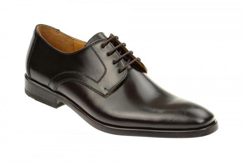 Lloyd DANVILLE elegante Halbschuhe und Schnürschuhe für Herren in dunkel-braun