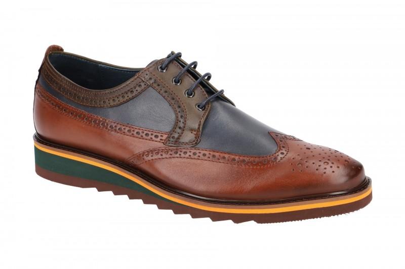 Pikolinos TOULOUSE elegante Halbschuhe und Schnürschuhe für Herren in braun