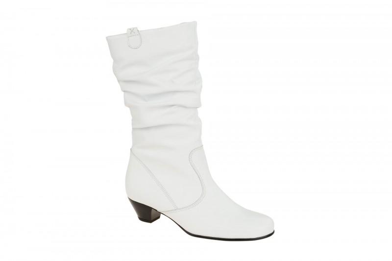 Gabor TUNIS elegante Stiefel für Damen in weiß