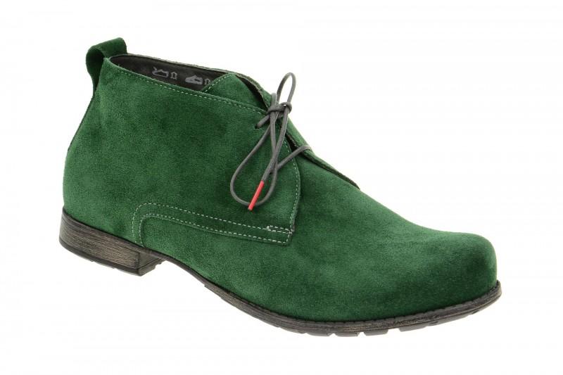 Think DENK! bequeme Stiefelette für Damen in grün