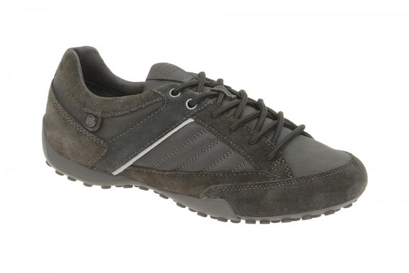 Geox Respira Snake B Sneakers in grau Herrenschuhe