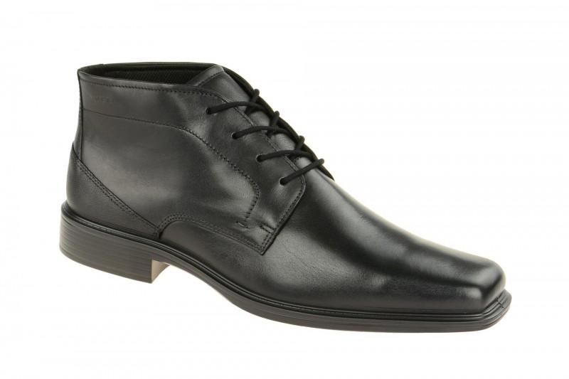 Ecco JOHANNESBURG elegante Stiefelette für Herren in schwarz