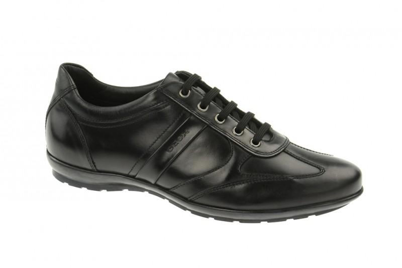 Geox Respira Symbol C - elegante Herrenschuhe in schwarz - kaufen!