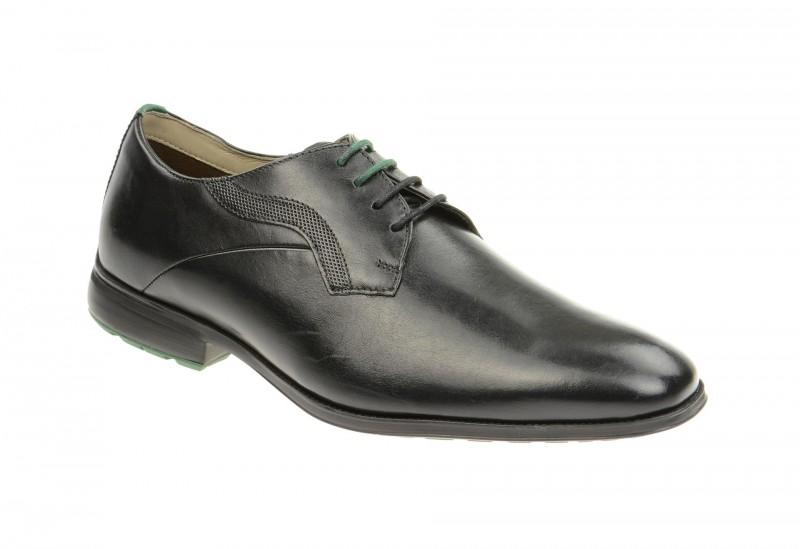 Clarks GLEESON WALK elegante Halbschuhe und Schnürschuhe für Herren in schwarz