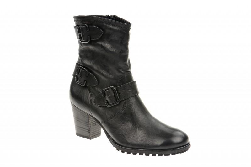 Paul Green 8402 elegante Stiefelette für Damen in schwarz