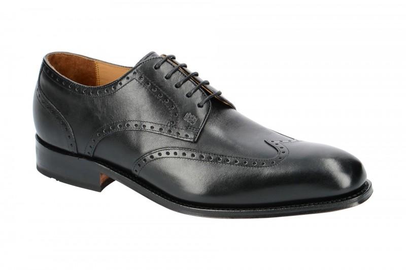 Gordon & Bros. HAVRET Rahmengenähte Schuhe für Herren in schwarz