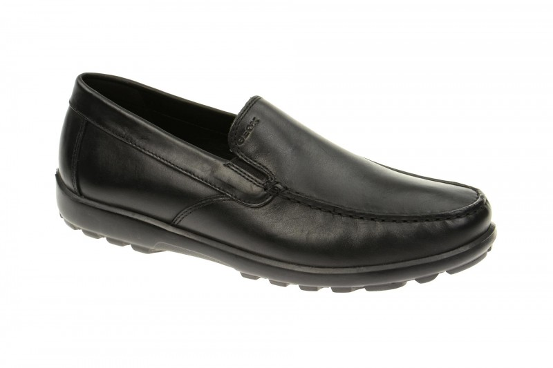 Geox Respira Mantra B Schuhe in schwarz Herren Slipper