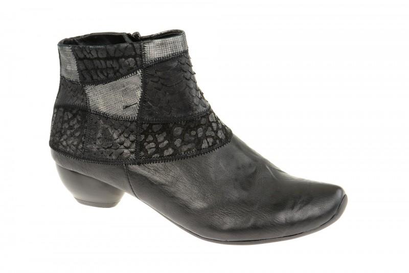 Think AIDA elegante Stiefelette für Damen in schwarz