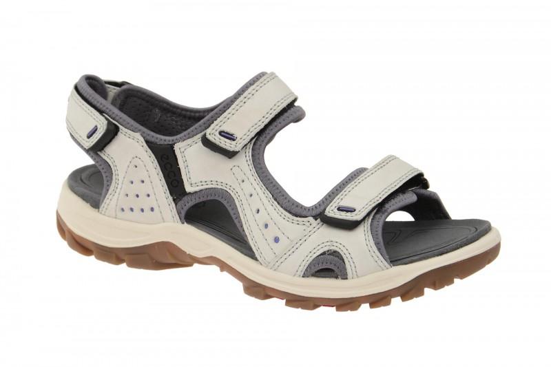 Ecco Offroad Lite Outdoor Sandale für Damen in weiß