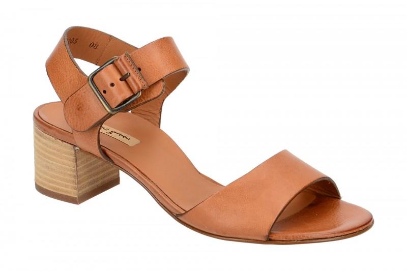 Paul Green 6085 Riemchen Sandale für Damen in hell-braun