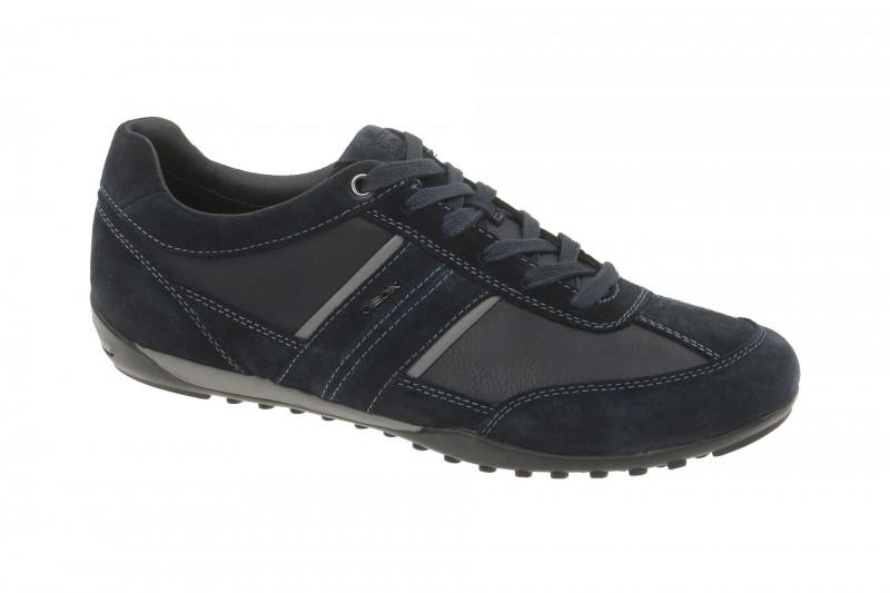 Geox Respira Wells C Halbschuhe in dunkelblau Herren Sneakers