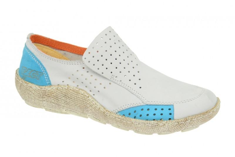 Eject Good sportliche Slipper für Damen in weiß