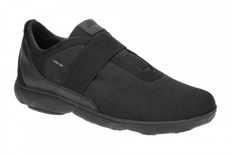 Geox NEBULA sportliche Slipper für Herren in schwarz