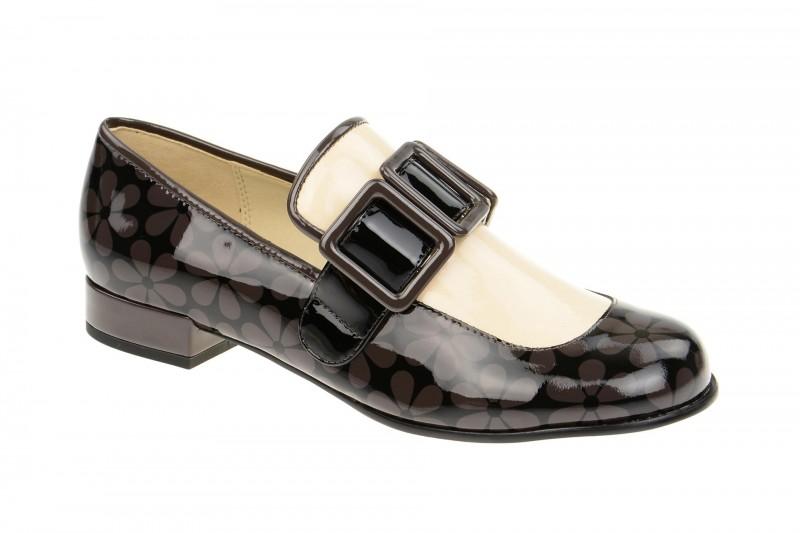 Clarks ORLA ALICE elegante Slipper für Damen in schwarz